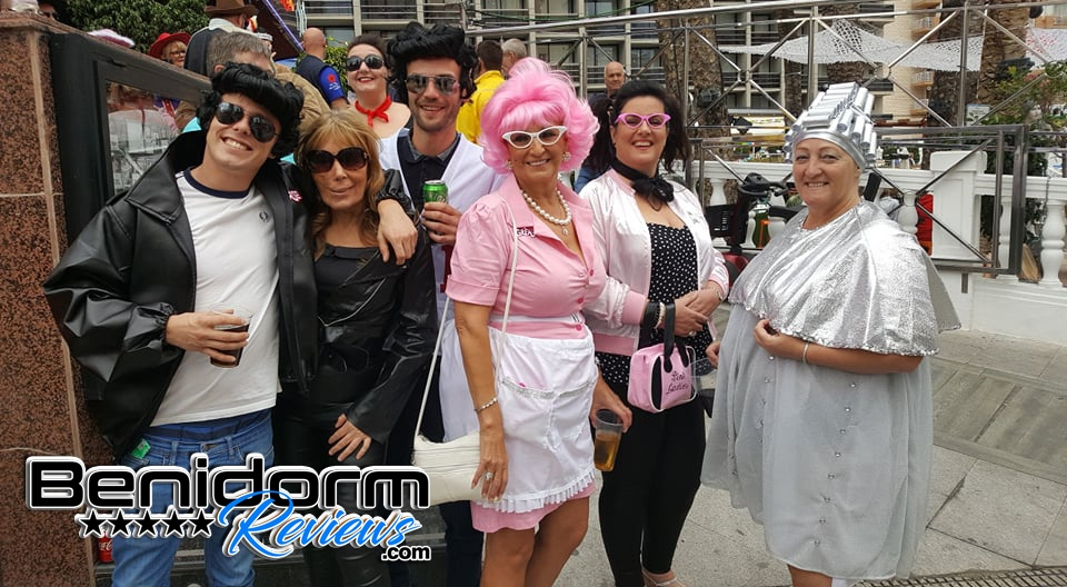 Benidorm Fancy Dress Party 2019
