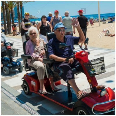Benidorm Mobility Scooter